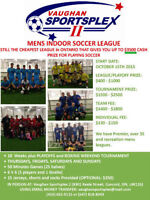 Division 1 Mens Soccer League - Win Prize: $7000 - Start Oct 15