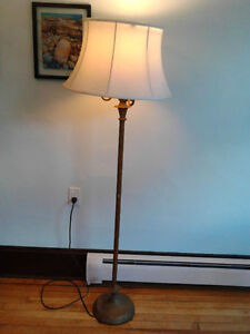 1920's Vintage Sofa  LAMP with Plated BRASS  Finish