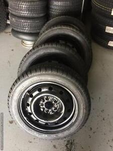 16 inch 205 / 55 R16 Pirelli Sottozero with 5x114.3 Steel Wheel