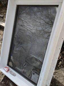 Triple argon casement window, 32 x 48