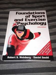 Foundations of Sport and Exercise Psychology Textbook Kawartha Lakes Peterborough Area image 3