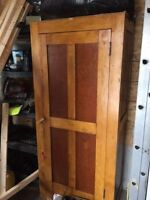 BEAUTIFUL SOLD WOOD WARDROBE - VERY OLD - EXCELLENT CONDITION