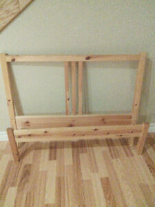 IKEA head and foot board, for twin bed