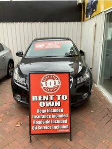 2009 Holden Cruze JG CDX Black 6 Speed Automatic Sedan Liverpool Liverpool Area Preview