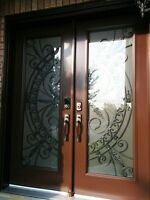 Front Door Wrought Iron