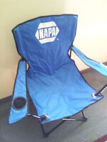 BRAND NEW BLUE (NAPA BRAND) LAWN/OUTDOOR CHAIR $15!!!!!!!!!!