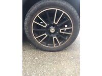 BMW MINI COOPER ALLOY WHEELS 195/55/16 2003 1.6 PETROL