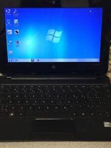 Compaq mini Laptop (10 inch) 160 gb hard drive