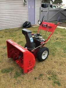 "Swap: MTD 10HP/28"" snowblower. Trade for 22-24"" gas"