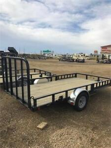 "14' x 83"" Channel Utility Trailer,  2.9K GVWR (U8)"