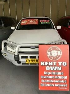 2011 Ford Territory SZ TX (4x4) White 6 Speed Automatic Wagon Liverpool Liverpool Area Preview