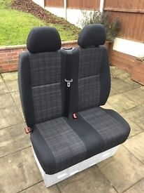 Mercedes sprinter double seat 2006 - 2013 could be custom rear seats, with base amazing condition.