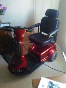 Fortress 1700 Series, 3 Wheel Scooter - $3500 new now $1000.00