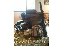 Carp fishing set up, all very good condition almost new