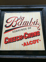 Cheech & Chong - Big Bambu - 1972 Vinyl, with rolling paper - $4