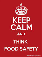 1 Day Food Safety Certification - $98