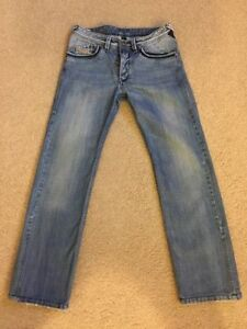 Diesel authentic men's designer jeans 31x34