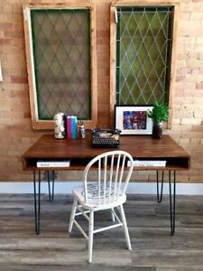 Hairpin Coffee / Desk / Console / Dining Table / Bench / Stool Kitchener / Waterloo Kitchener Area image 3