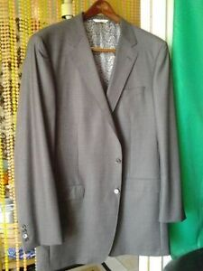 BRAND NEW ED WILLIAMS 100% TASMANIAN WOOL XXL 50-38 JACKET GREY