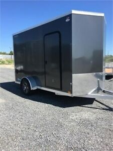 2020 LEGEND 6' X 13' THUNDER V-NOSE ENCLOSED TRAILER