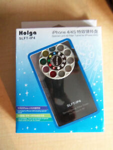 New HOLGA IPHONE 4/4S LENS FILTER AND CASE
