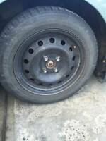 15'' set of 4 tires and rims