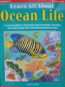 *Brand New* Learn All About Ocean Life *Grades 1 - 4*
