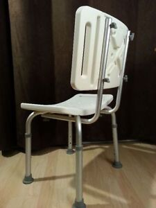 SHOWER Chair with height adjustable legs Peterborough Peterborough Area image 2