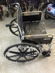 Drive STD24ECDFA-ELR Sentra EC Heavy Duty Wheelchair, $450.....