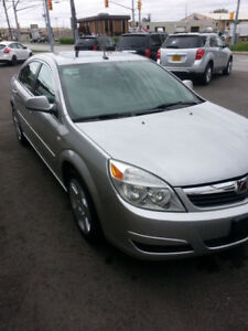 2007 Saturn Aura XE Low kms saftied & etested