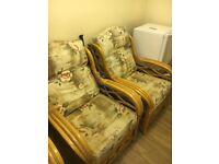 Indoor rattan furniture set