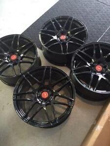 "20""x11; 20""x9.5 staggered ORIGINAL Forgestar F14 wheels 5x114.3"
