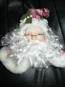Old world Santa Head