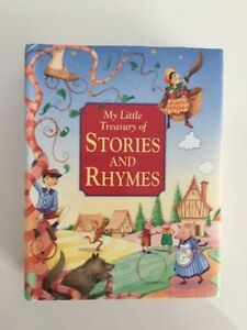 Little Treasury of Stories & Rhymes Thick Book. $4.00