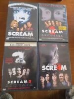 DVD Scream movies collection