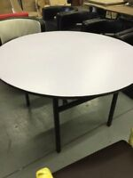 48 Inch Round Foldable Table Brand New Water Resistant