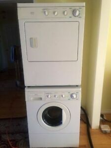 FRONT LOAD STACKABLE WASHER AND DRYER FOR SALE 71h 27w 24d