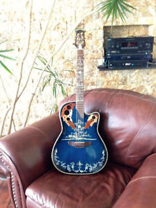 Halifax Beautiful Pearl inlaid acoustic/electric guitar Halifax.