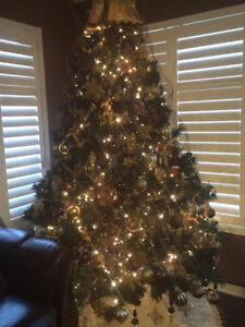 7.5 Artificial Christmas Tree for SALE!!!