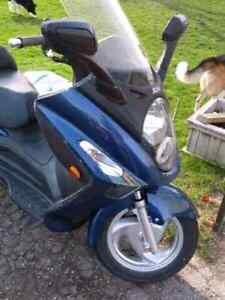 250 cc highway scooter