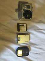 GoPro Hero 2 with Wifi Remote and Backing