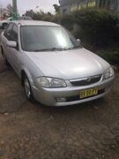 1999 Mazda 323 Protege Silver 5 Speed Manual Sedan Wentworthville Parramatta Area Preview