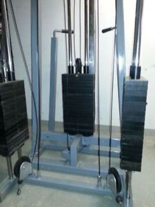 Multi-Station Functional Trainer Multi-Stack