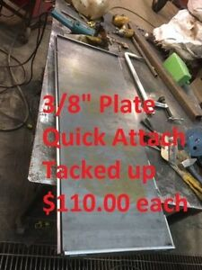 Custom Built Skidsteer Quick Attach - 9 Options!