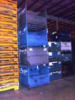 "Steel Bins Containers Totes Baskets 40"" x 48"" x 40"" o/h"