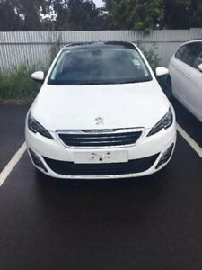 2016 Peugeot 308 T9 MY17 Allure White 6 Speed Sports Automatic Hatchback