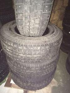 4 Cooper winter LT275/70/18 90% tread studded