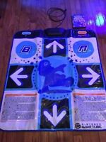Dance dance revolution Mario Mix Game with dance mat. Complete!