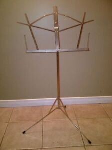 Stainless Music Stand. $5