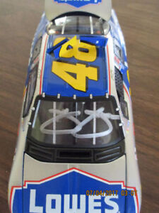 JIMMIE JOHNSON SIGNED CAR.